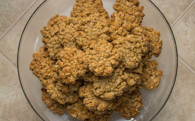 עוגיות גרנולה של ליאת אלפרט קלין